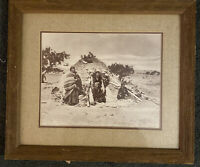 William Pennington Navajo Native American Photograph Print, Early 1900s Framed