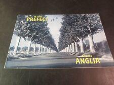Original 1956 De Luxe Prefect Deluxe Anglia Sales Brochure