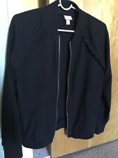 Black Spring/fall Ladies Jacket XS