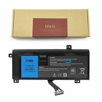 HWG Laptop Battery for Dell Alienware 14 A14 M14X R3 R4 P39G G05YJ 71Wh