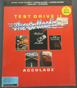 Test Drive 2 The Collection PC {New in Box}