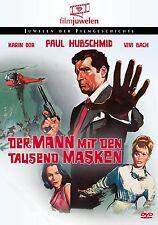 Der Mann mit den 1000 Masken (Paul Hubschmid, Karin Dor, Vivi Bach) DVD NEU+OVP!