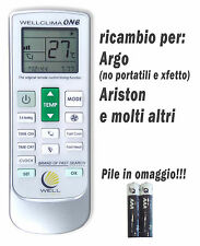 Telecomando per condizionatore Argo Ariston climatizzatore aria condizionata