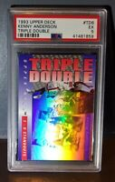 1993 Kenny Anderson Upper Deck Triple Double #TD6 Basketball Card - PSA 5