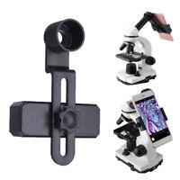 Microscope Lens Adapter Mobile Phone Smartphone Camera Adaptor Connect Tripod