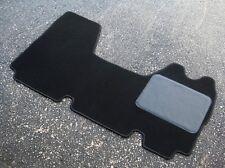 Black Car/Van Mat to fit Vauxhall Movano (1998-2010) - FREE COLOURED TRIM!