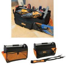 TRITON Tool Bag Open Tote Hard Base Rigid Bag Case Storage Reinforced Polyester