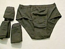 Ladies 4 Pack of  Black Control briefs size 20
