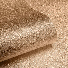 BRONZE COPPER SPARKLE GLITTER QUALITY MURIVA FEATURE DESIGNER WALLPAPER 701374