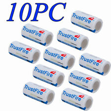 10pcs TrustFire CR123A 1400mAh 3V Lithium Battery Non-Rechargeable Batteries Bat