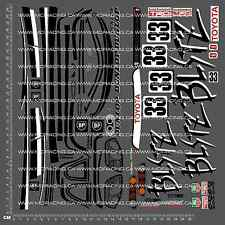 1/10TH TAMIYA 58137 - BLITZ TOYOTA SUPRA GR.N DECALS