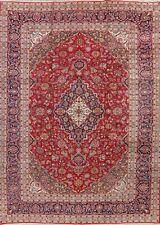 Vintage Floral Ardakan Oriental Area Rug Wool Hand-Made Medallion Carpet 10x13