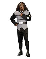 """STAR TREK prossima generazione Da Uomo Costume Klingon, STD, circonferenza petto 44"""", girovita 30-34"""", interno gamba 33"""""""