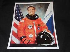 NASA Astronaut J.M. Linenger Official 8x10 Auto Pen Facimile Sign Photo JB10