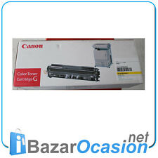 Toner Canon Color Cartridge G CP660 Amarillo Yellow 1512A003 Original Nuevo