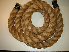 """1"""" x 50 Ft Manila Rope/Brown/Decorative Workout"""