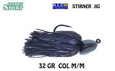 ILLEX STIRNER TESTINA PIOMBATA PER TRAILER GR 32  M M SPINNING BLACK BASS