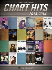 Chart Hits of 2013-2014 Sheet Music Piano Vocal Guitar SongBook NEW 000125357