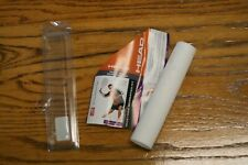 Head Tacki-Mac Serrated Mt Racquetball Replacement Grip White,Three Sets