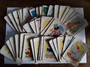 """Ancien jeu de cartes 7 familles ' Disney """""""