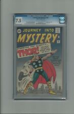 Journey into Mystery #89 CGC 7.5 Origin of Thor Retold OW-White Pages