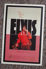 """Elvis Lobby Card Movie Poster A Film about him """"Thats the way it is"""""""