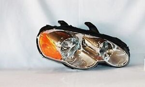 Right Side Replacement Headlight Assembly For 2003-2005 Chrysler Sebring Coupe