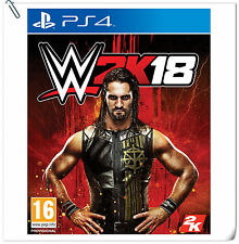 PS4 WWE 2K18 SONY PlayStation 2K Sports Action Games