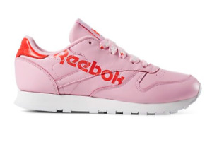 Reebok Classic CL Leather Lifestyle Sneakers Shoes Pink DV3831 Size 4-12