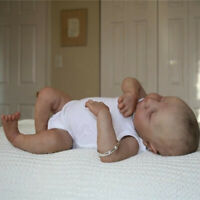 "19"" Lifelike Handmade Reborn Baby Doll Real Soft Touch Silicone Premie Baby Doll"