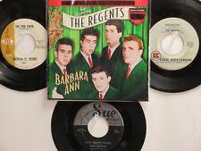 4 ORIGINAL OLDIES BUT GOODIES HIT 45's+1P(Copy)[BARBARA ANN ] 50's&60's!
