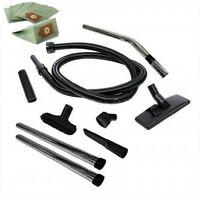 Tool Kit & 2.5m Hose & 10 x Bags For Numatic Henry Hetty James Vacuum Cleaners