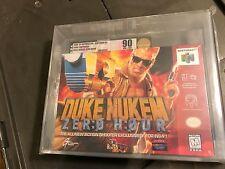 Duke Nukem: Zero Hour  (Nintendo 64, 1999) VGA 90 New Sealed Graded Gold