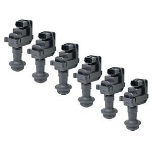 (6)Ignition Coil For Skyline R33 RB25DET Series 2 R34 RB26
