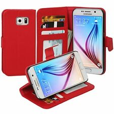 Jumbl Slim Leather Wallet Case - Models Available for Samsung Galaxy S6 - Inner