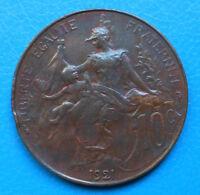 10 centimes Dupuis 1921 TTB , cote 55€