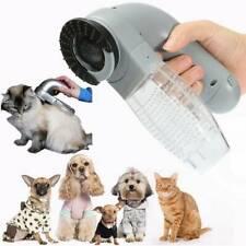 Electric Pet Hair Remover Brush Grooming Comb Cat Dog Fur Shedding Vacuum Clean