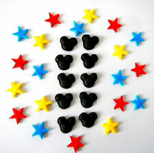 Mickey Mouse and Star Cake Decorations (Topper to match in my ebay shop)