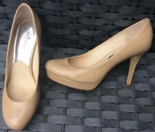 Michael Kors Beige Court Platform Shoes Size 6.5 M UK 9.5M US
