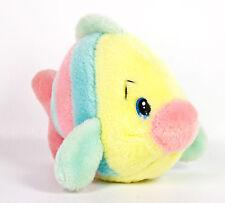 "Special Effects Fish Sea Food Salad 6"" Plush Rainbow Stripes Stuffed Animal Vtg"