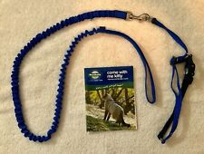 PetSafe Blue Come With Me Kitty Bungee Leash & Harness Set w Instruction Booklet