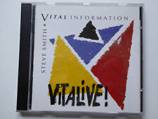 STEVE SMITH / VITAL INFORMATION <>  Vitalive!  <> VG+ (CD)