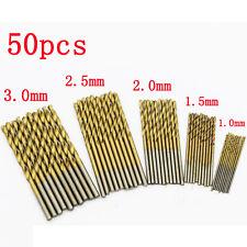 Punte per punte elicoidali50seghe trapano HSS in acciaio al carbonio e metall PQ