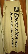 ERNST & YOUNG bath towel UK From Thought to Finish firm London tax consulting