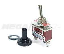 Toggle Switch Heavy Duty 20a125v Momentary Spdt On On Withwaterproof Boot
