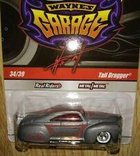 Hot Wheels Wayne's Garage #34/39 Tail Dragger Matte Finish/Red Windows