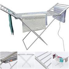 DAEWOO ELECTRIC Indoor panni vestiti asciugatrice asciugatura Riscaldato Stendibiancheria pieghevole Rack