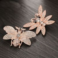 Snap Jewelry Rose Butterfly 18mm Snaps Button Charm Fit Bracelet Leaher Style 12