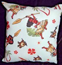 New Disney Handmade Princess Moana & Pua Travel Toddler Cuddle Pillow