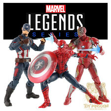 "Marvel Legends 6"" Civil War Exclusive 3-Pack Captain America/Iron Man/Spider-Man"
